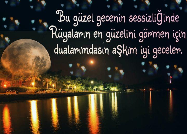 Bu güzel gecenin sessizliğinde…